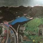 Wandtafelbild Tessin